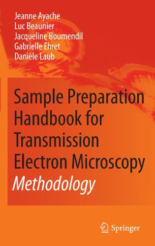 Sample Preparation Handbook For Transmission Electron Microscopy: Methodology