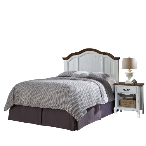 Home Styles 5518-6015 The French Countryside King/California King Headboard And Night Stand Set front-957539