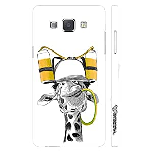 Samsung Galaxy A8 Drunken Giraffe designer mobile hard shell case by Enthopia