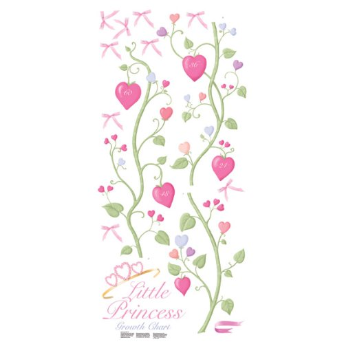 RoomMates RMK1084GC Fairy Princess Peel & Stick Growth Chart (Peel Stick Growth Chart compare prices)