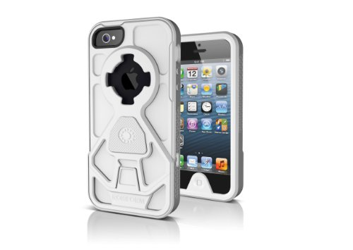 Best Price Rokform RokShield V.2 Bumper Apple iPhone 5 Case with Magnet Grip Insert and Remote Mounting System (White Bumper / White Body / White Grip)