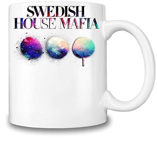 Swedish House Mafia Colorful Logo Tazza Coffee Mug Ceramic Coffee Tea Beverage Kitchen Mugs By Genuine Fan Merchandise