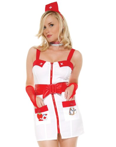 Forplay Women's Love Doctor Adult Sized Costumes