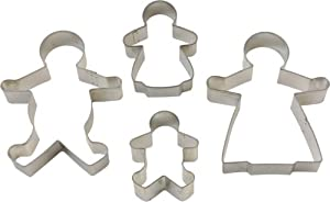 TALA GINGERBREAD FAMILY CUTTERS     12/144