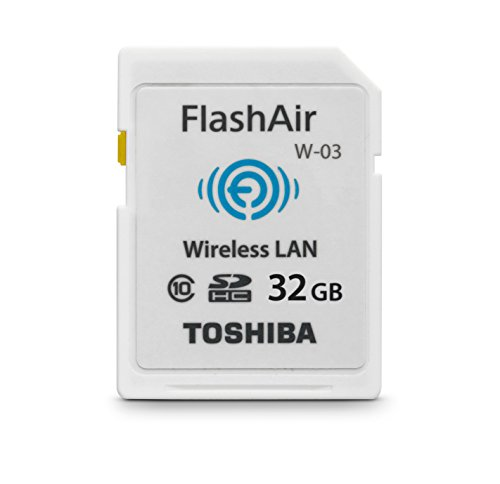 32GB Toshiba FlashAir Wi-Fi LAN W-02 SDHC CL10 memory card (Sd Toshiba Wi Fi compare prices)