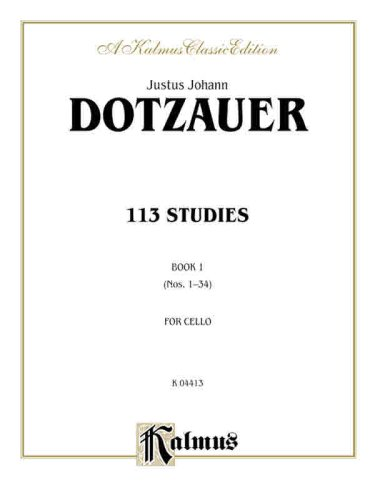 113 Studies, Vol 1 (A Kalmus Classic Edition)