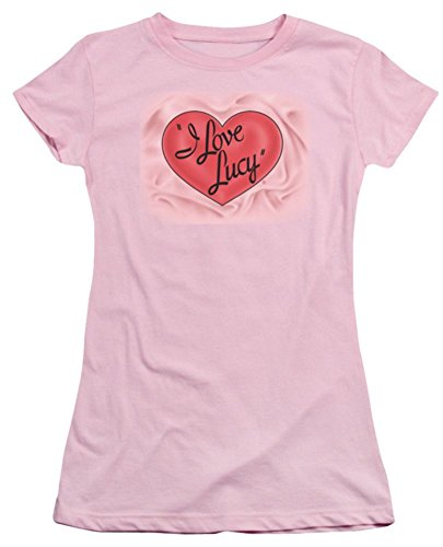 I Love Lucy Classic Logo Ladies Junior Fit T-Shirt LB108BJS