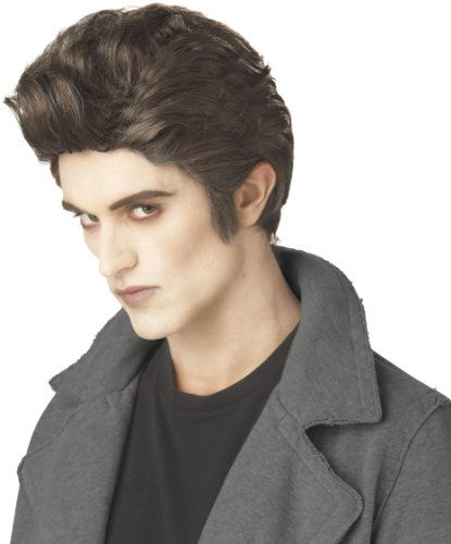 California Costumes Men's Love At First Bite Wig,Brown,One Size