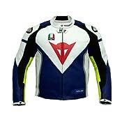 Valentino Rossi Racing Leather Jacket (M (EU50)) : Amazon.com : Automotive