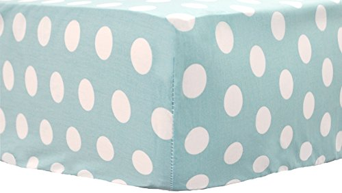 My Baby Sam Pixie Baby Sheet, Aqua