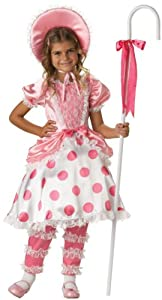 Girls Little Bo Peep Costume - Child Size 8
