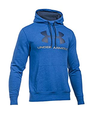 Under Armour Sudadera con Capucha Triblend Sportstyle Logo Po (Azul Royal)