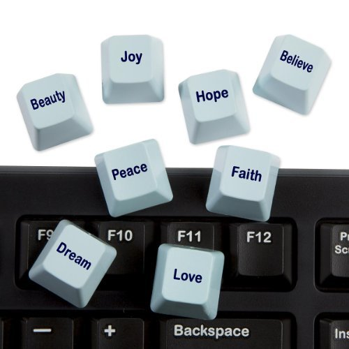 ComputerGear Novelty Computer Inspirational Key Set - CLEARANCE