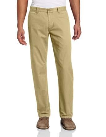 Dockers Men's Broken In Slim Straight Flat Front Pant, Montgomery Khaki, 30x30