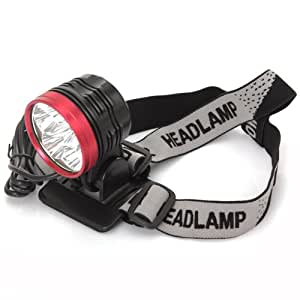 6x CREE XM-L T6 LED 6800lm Lampe Vélo bicyclette Bike/ Lampe Phare Lampe Frontale Impermeable - 3 Modes Lumière 6800 lm