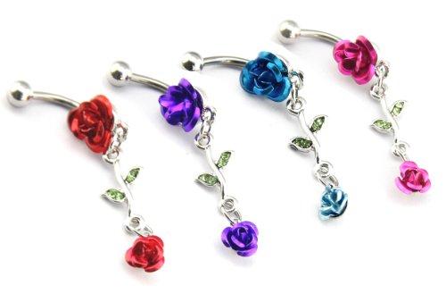 value-pack-4-stuck-14-g-rot-rosa-pink-blau-violett-schone-true-2-stuck-metall-mit-rose-drop-bauchnab