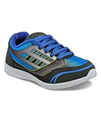 Yepme Men's Blue & Black Synthetic Casual Shoes