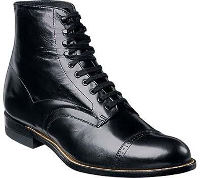 Stacy Adams Men's Madison 00015 Exotic Skin Shoes,Black Kidskin,6.5 D US