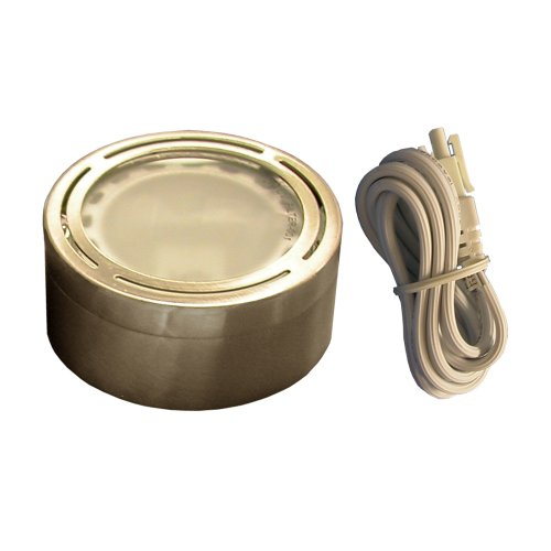 DALS L-XE120 120V Xenon Metal Puck Satin Nickel