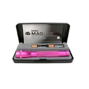 Maglite M2AKYL AA Mini Torch In Gift Box Pink