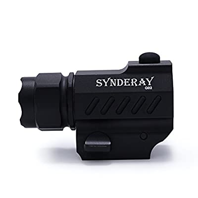 SyndeRay CREE LED Tactical Gun Flashlight 2-Mode 600LM Pistol Handgun Torch Light for Hiking,Camping,Hunting and Other Indoor/Outdoor Activities