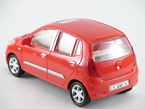 Centy-Toys-Model-Of-Hyundai-I10-Car-Kidsshub-1406060-mm-In-Length-Width-Height-Weight-135-gms-Red