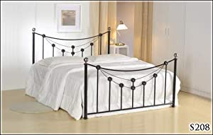 BRAND NEW 5ft METAL BLACK KING SIZE BED FRAME AND SLUMBER SLEEP VENUS SPRUNG MATTRESS       Customer reviews and more information