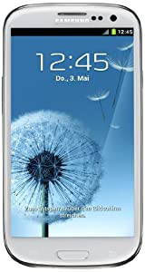 Samsung Galaxy S III/S3 GT-I9300 Factory Unlocked Phone - International Version (Marble White)