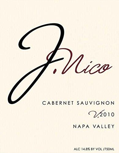 2010 J Nico Wines Napa Valley Cabernet Sauvignon 750 Ml