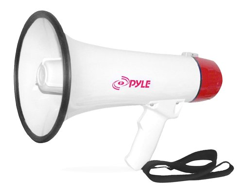 Pyle-Pro Pmp40 Professional Megaphone/Bullhorn With Siren And Handheld Mic