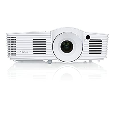 Optoma HD26 Full 3D 1080p 3200 Lumen DLP Home Theater Projector with MHL Enabled HDMI Port