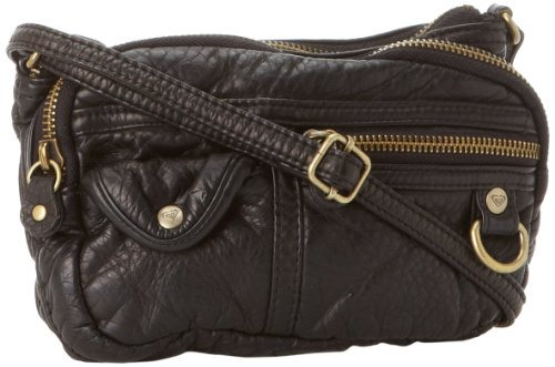 Roxy Juniors Sunny Side Crossbody Bag, Black, One Size