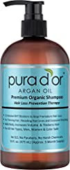 PURA DOR Hair Loss Prevention Premium Organic Argan Oil
