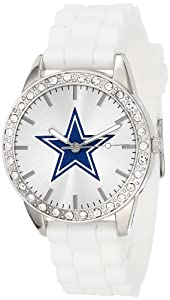 Game Time Ladies NFL-FRO-DAL Frost NFL Series Dallas Cowboys 3-Hand Analog Watch by Game Time