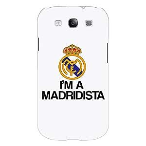 Jugaaduu Real Madrid Back Cover Case For Samsung Galaxy S3
