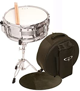 GP Percussion SK22 Complete Student Snare Drum Kit from M & M Merchandisers, Inc