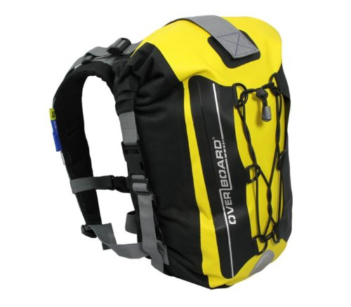 OverBoard Waterproof Backpack, Yellow, 20-Liter
