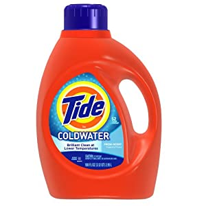 Tide Coldwater Fresh Scent with Actilift, 100.0-Ounce Bottles