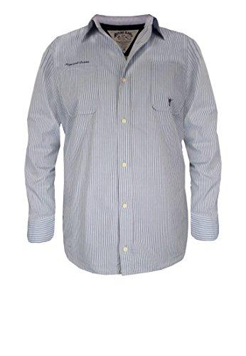 Replika -  Camicia Casual  - Uomo blu 80