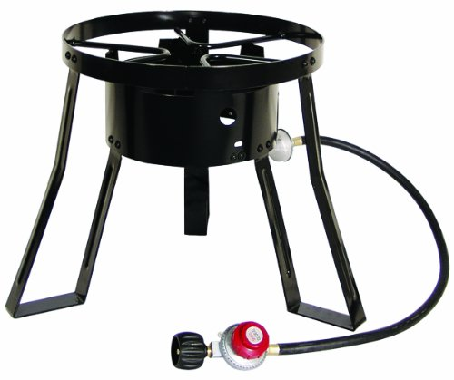 Masterbuilt MB15 15-Inch LP Cooker Stand with Cast Iron Burner (Propane Fryer Burner compare prices)