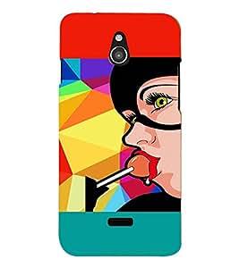 PRINTVISA Girl Lollipop Case Cover for InFocus M2