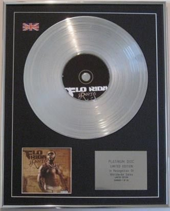 FLO-RIDER CD Platinum Disc-ROOTS