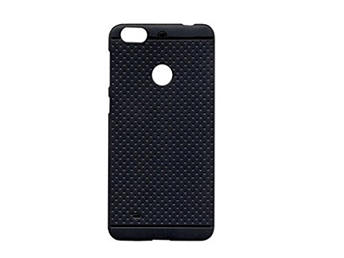 uk availability 2872c 5ea0a Redmi 3S Prime Back Cover, Back Cover For Xiaomi Redmi 3S Prime - Black  Colour - Rubberised Dotted Soft TPU Black Cover Case For Redmi 3S Prime  Back ...