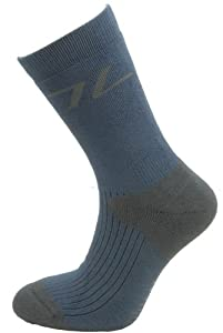 Highlander Coolmax Trekker Sock - Navy/Grey, Small