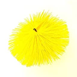 Soft White Poly Round BL Spiral Brush No Threads - 6\