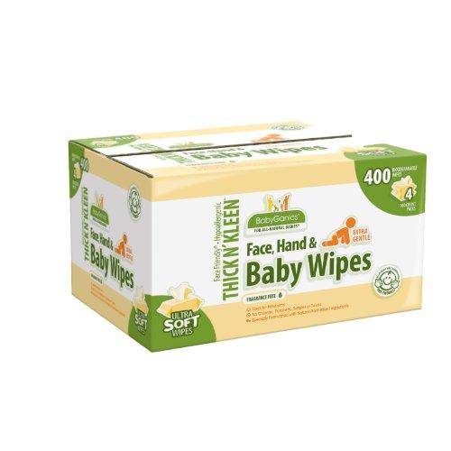 BabyGanics Baby Wipes Extra Gentle, Fragrance