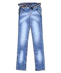 DUC Boy's Denim Light Blue Jeans (kd02-lb-36)
