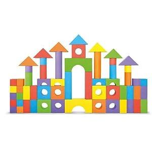 Imaginarium Foam Building Blocks - 100 Pieces