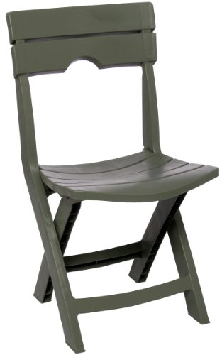 Adams Manufacturing 8575-01-3700 Quik-Fold® Chair, Sage front-722885