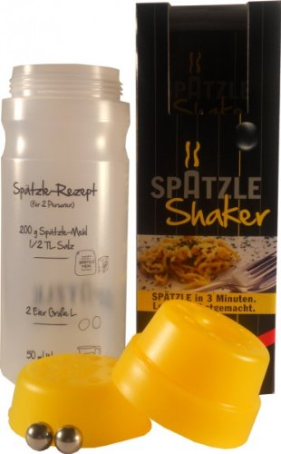 Sp&#228;tzle-Shaker f&#252;r 2 Portionen